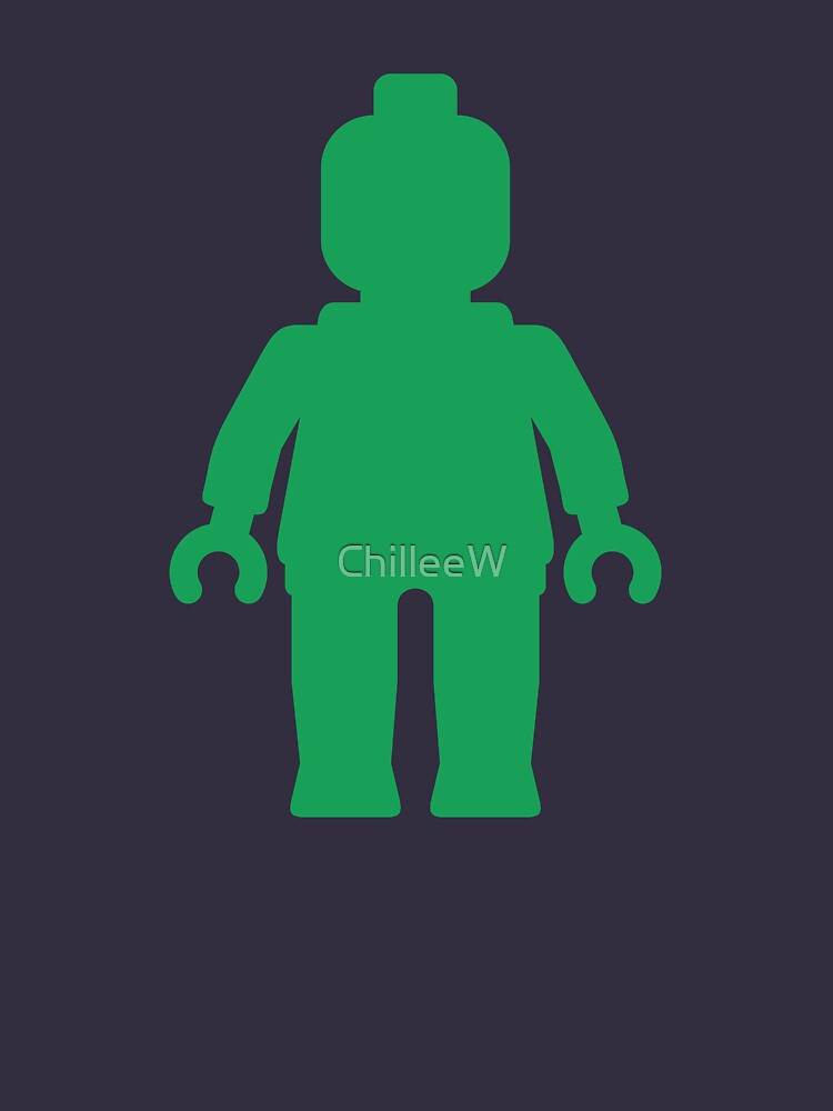 Minifig [Green]  by ChilleeW