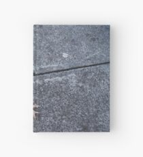 Leaf on Footpath by Gemma Hardcover Journal