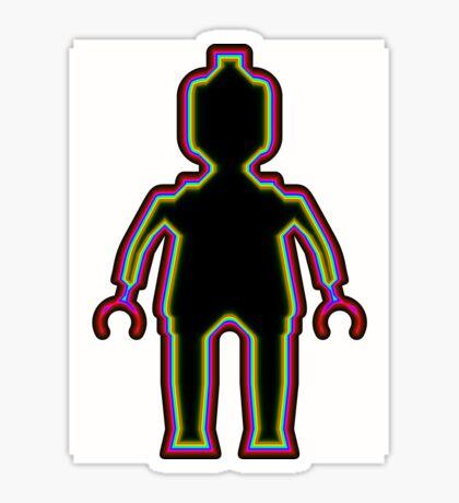 Alien Minifig Xray  Sticker