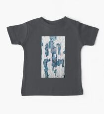 Wood Texture Blue Hue Kids Clothes