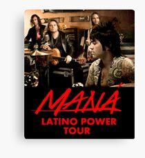 Mana Band Latino Power Canvas Print