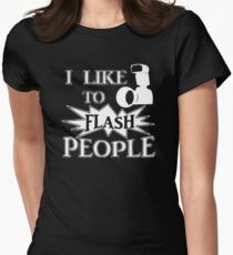 I Like To Flash People Funny Photographer T-Shirt