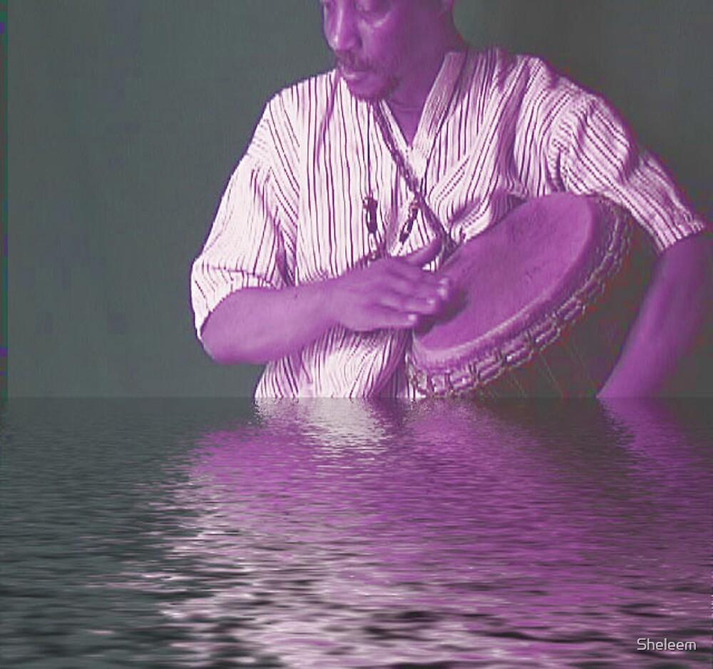 African Water Drum God Myth by Sheleem