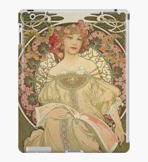 Alphonse Mucha - Champagne 1897 iPad Case/Skin