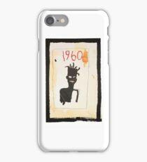 Basquiat 1960 iPhone Case/Skin