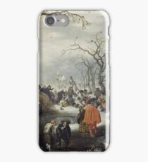 Adriaen Pietersz. Van De Venne - Shrove Tuesday In The Country iPhone Case/Skin