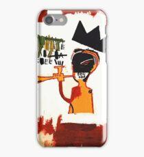 Basquiat Trompette iPhone Case/Skin