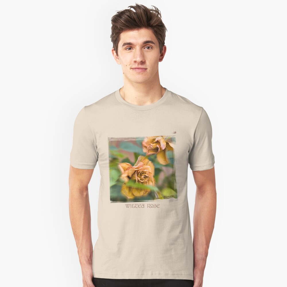 Wilted Rose Unisex T-Shirt Front