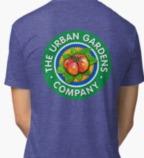 Color Logo for UGC, by Urban Gardens Tri-blend T-Shirt