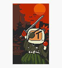 Panic Bomber W - Samurai  ☼⚔ Photographic Print