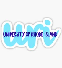 University of RI Sticker