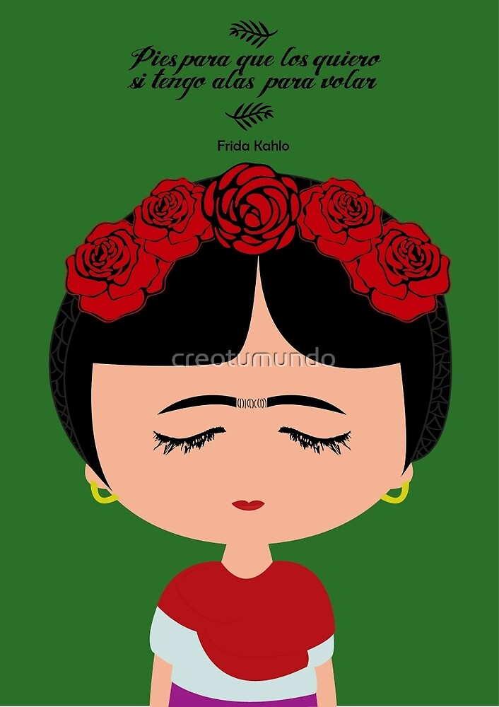 Frida Kahlo by creotumundo