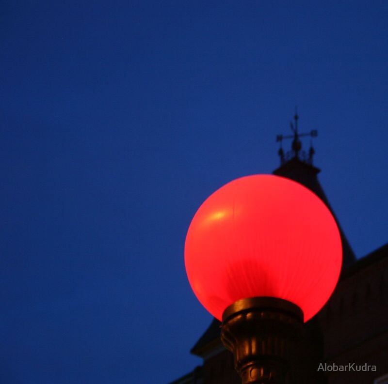 North End Street Light by AlobarKudra