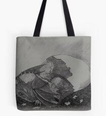 Birth of a dragon Tote Bag