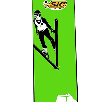 SIC lighters - skiing by fred-moose
