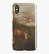 Abraham Van Cuylenborch - Bacchus And Nymphs In A Landscape iPhone Case/Skin