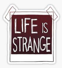 life is strange Sticker