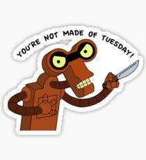 Futurama Roberto - mini sticker Sticker