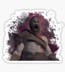 Kratos (God of War) Sticker