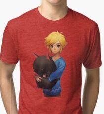 Link ~ Legend of Zelda Tri-blend T-Shirt