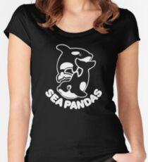 Sea Panda Women's Fitted Scoop T-Shirt