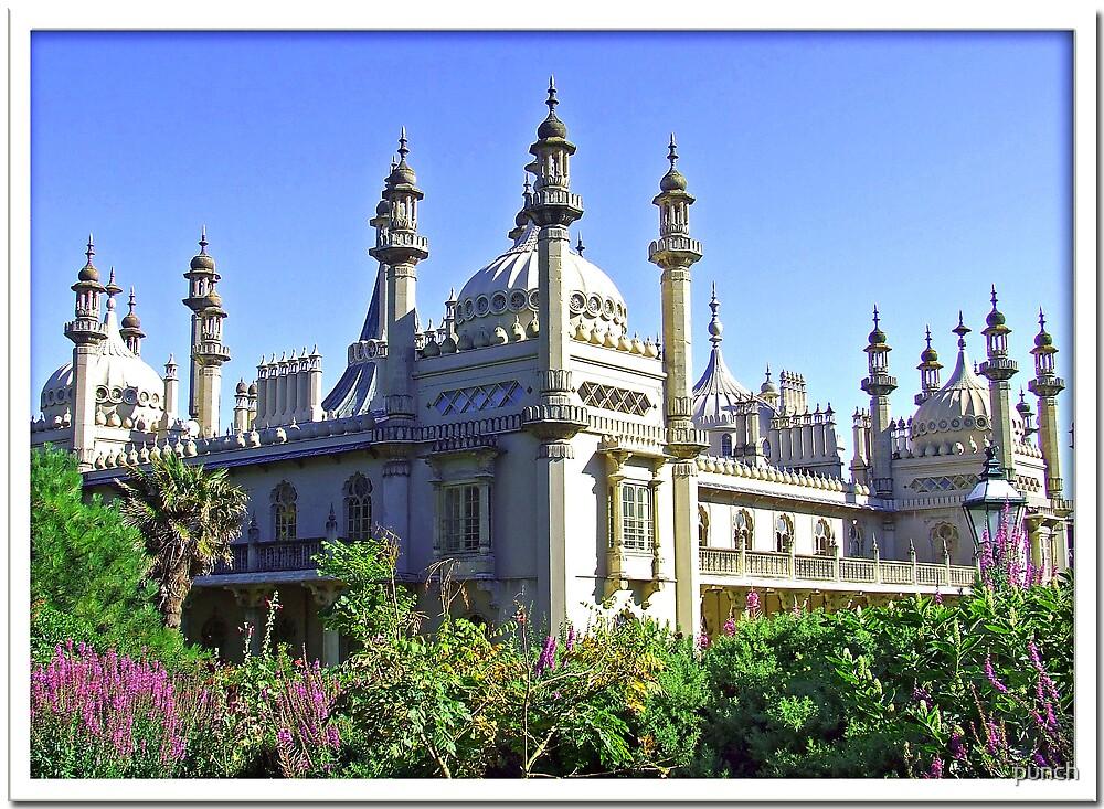 Brighton Pavillion by punch