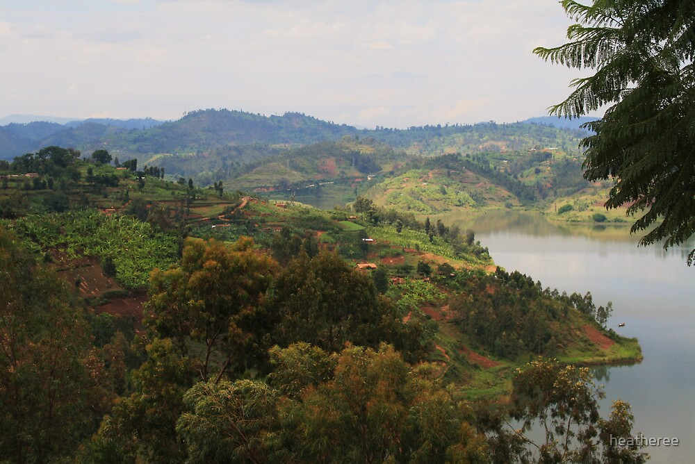 Lake Kivu by heatheree