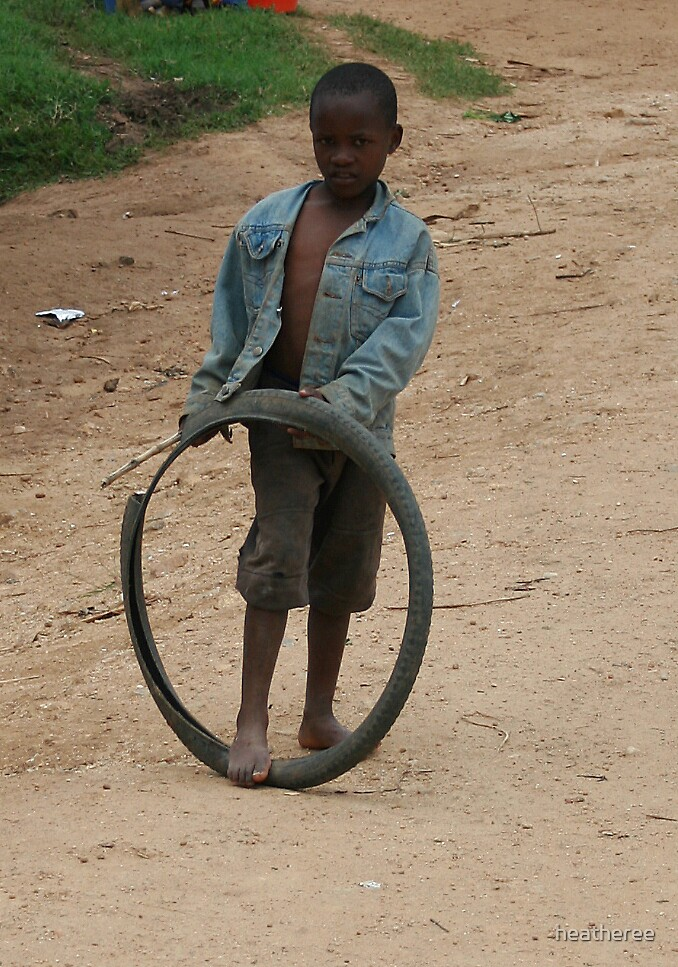 Boys and their toys (African style) by heatheree