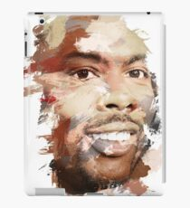 Paint-Stroked Portrait of Actor and Comedian, Chris Rock iPad Case/Skin