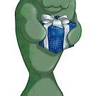 Christmas Manatee by thedustyphoenix