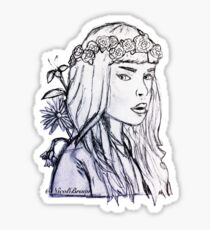 Melanie Martinez Sketch Sticker