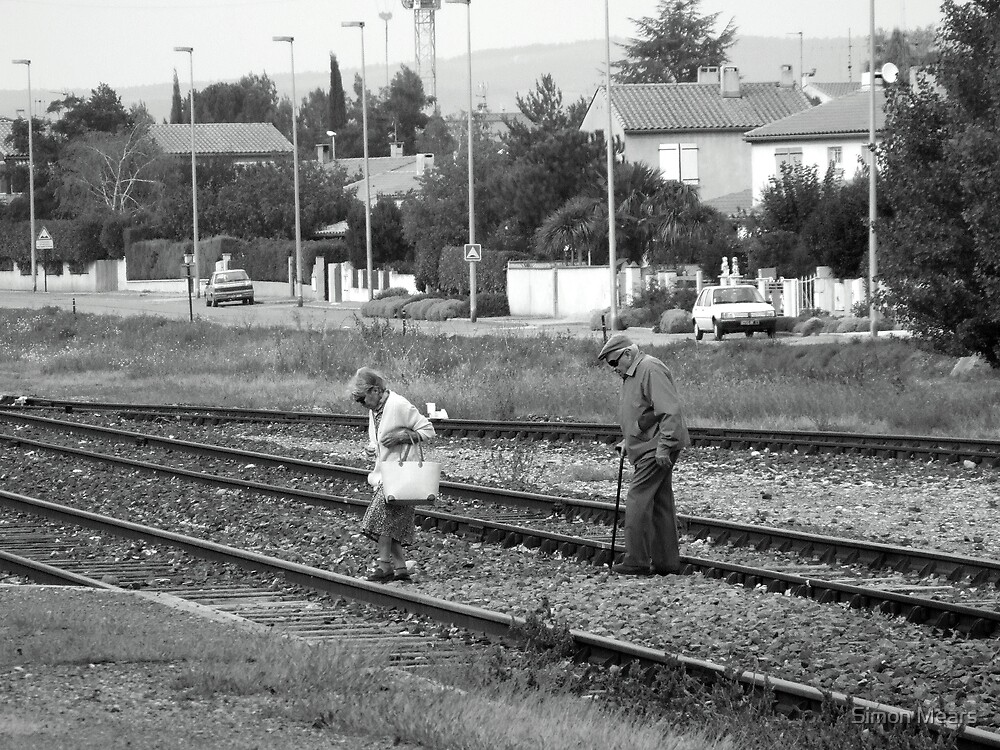 Crossing the Tracks (The Guardian Unlimited Travel Photograph Weekly Winner) by Simon Mears