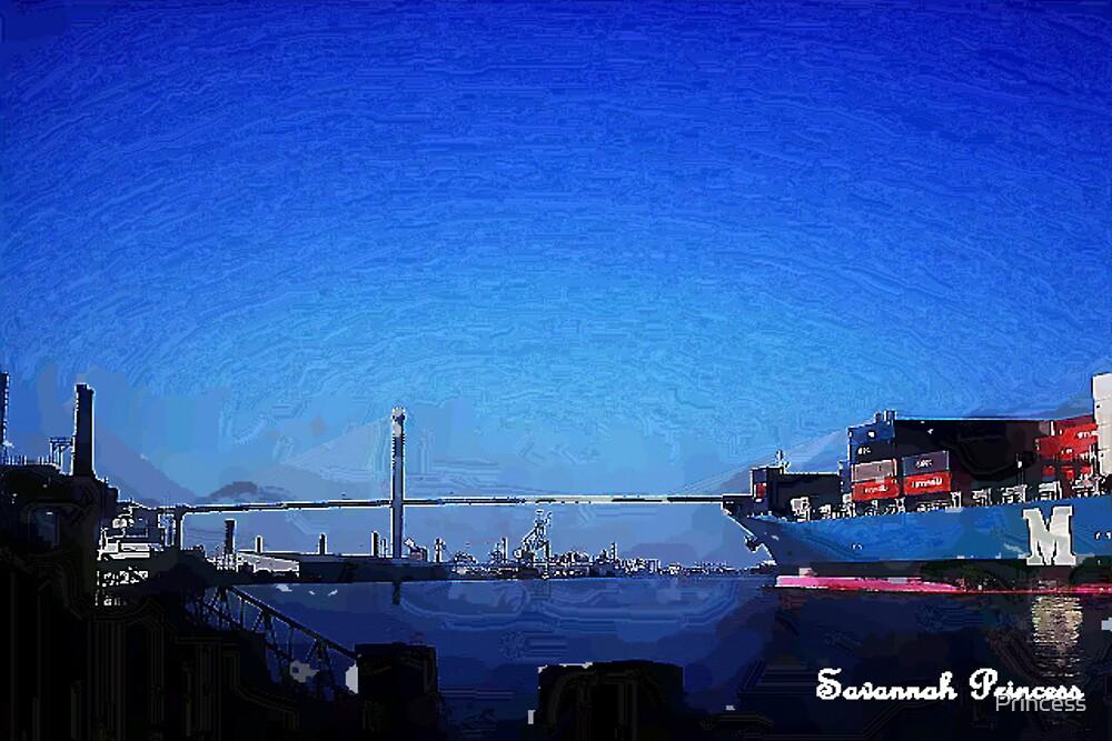 A Bridge oil by Princess