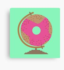 Sweet Donut Globe R78k2 Canvas Print