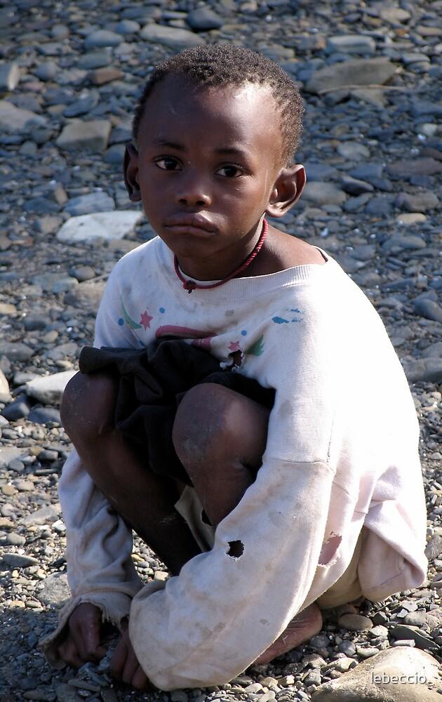 Boy in Coffee Bay, South Africa by lebeccio