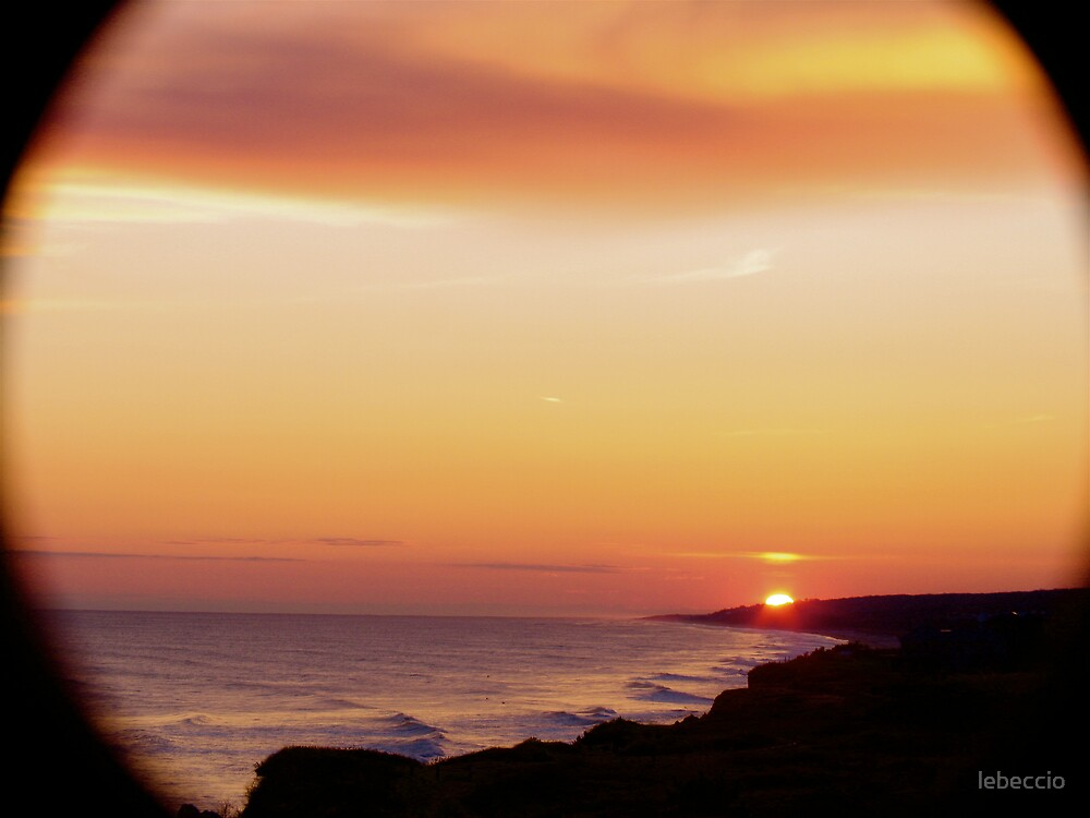 Sunset Montauk by lebeccio