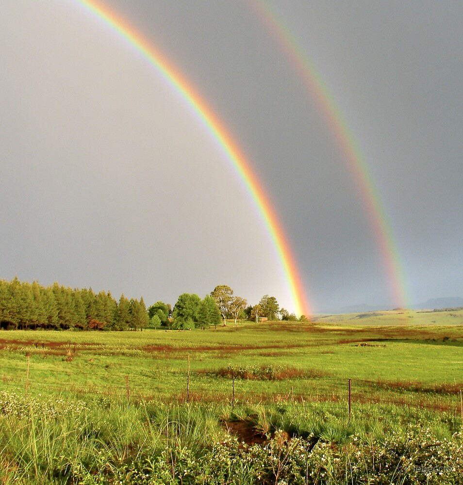Rainbow in South Africa by lebeccio