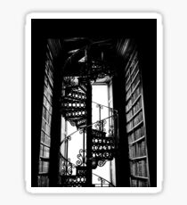 Spiral Iron Staircase - Dublin, Ireland Sticker