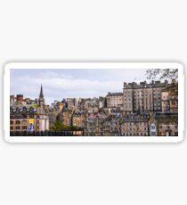 Edinburgh Skyline - Scotland Sticker