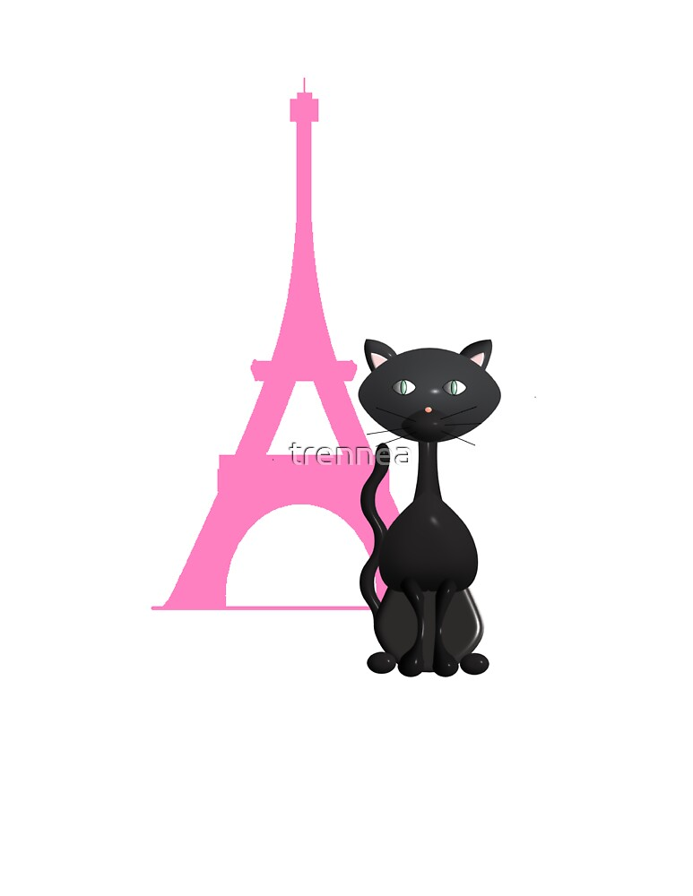 KItty on Vacation in Paris by trennea