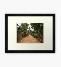 Buddhism Framed Print
