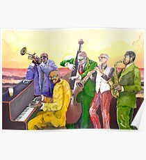 Super Jazz band Poster