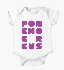 Poncho Circus - Block Purple Kids Clothes