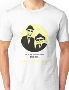 Bones Brothers - Undertale/Blues Brothers Mashup - w/o Blue Background Unisex T-Shirt