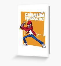 shaolin fantastic Greeting Card