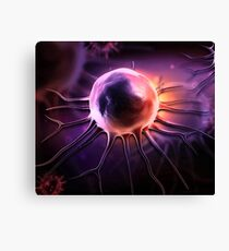 CANCER CELL HUMAN BODY Canvas Print
