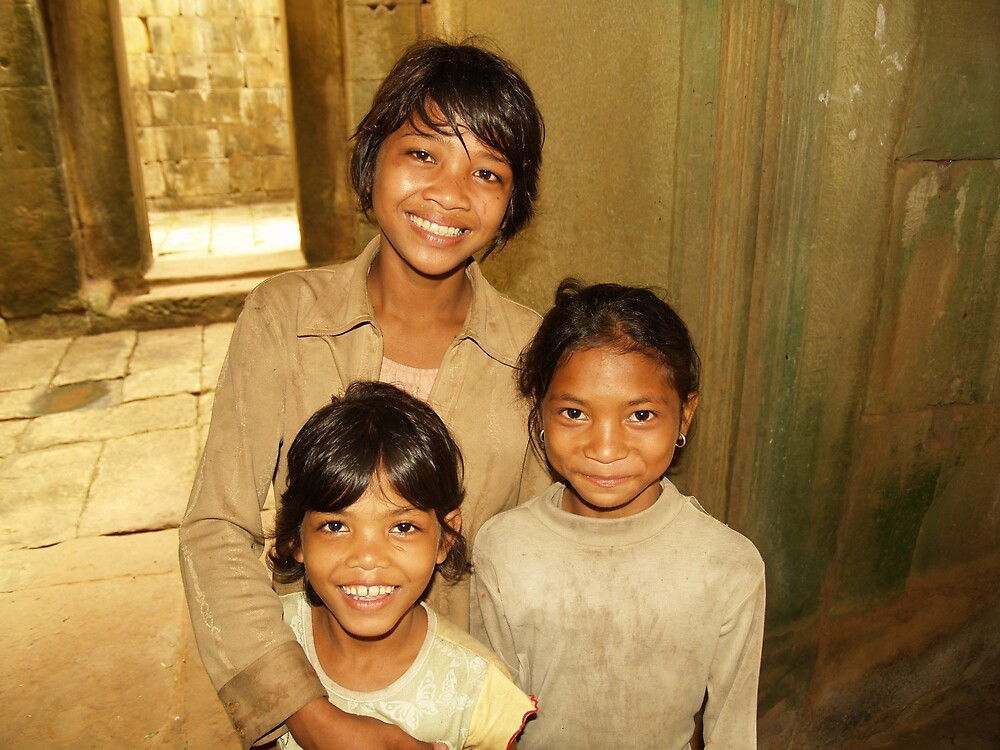 Cambodian Smiles by focus