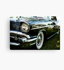 Eyebrows and Waistline - Belair Canvas Print