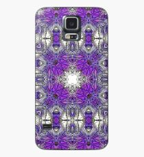 Palm Leaves Abstract Art Pattern  Case/Skin for Samsung Galaxy
