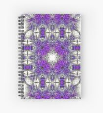 Palm Leaves Abstract Art Pattern  Spiral Notebook